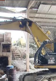 Hà Nội: Sập mỏ đá ở Ứng Hòa, 1 người thiệt mạng