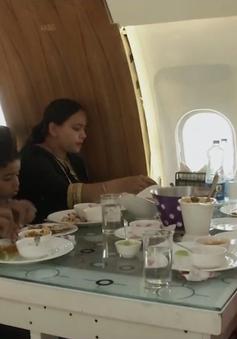 Nhà hàng siêu độc bên trong máy bay Airbus A320