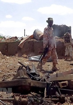 Đoàn xe Kenya bị đánh bom ven đường tại Somalia, 9 binh sỹ thiệt mạng