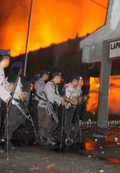 Bạo động tại nhà tù Indonesia, 5 sĩ quan an ninh thiệt mạng