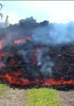 Núi lửa tại Hawaii tiếp tục phun dung nham