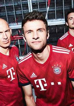 Bayern khoe áo đấu mùa mới 2018/19 cực chất