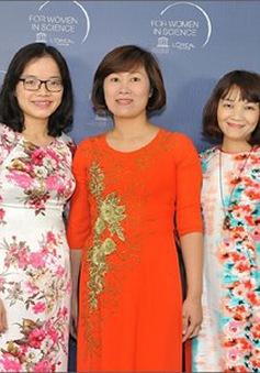 Vinh danh 5 nhà khoa học nữ xuất sắc năm 2017