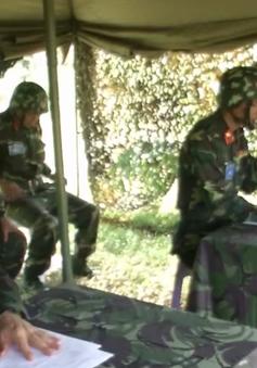 Cục Hậu cần Quân đoàn 2 diễn tập Chỉ huy - Tham mưu hậu cần chiến dịch