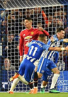 MU xác lập kỷ lục buồn sau trận thua Brighton