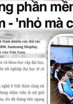 """Gia công phần mềm của Việt Nam - """"Nhỏ mà có võ"""""""