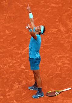 Thắng áp đảo Dominic Thiem, Nadal lần thứ 11 đăng quang Pháp mở rộng