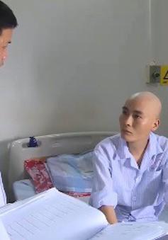 Người lính hải quân chiến đấu với bệnh ung thư máu