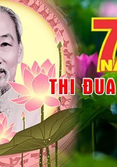 Các tỉnh thành miền Trung tổ chức lễ kỷ niệm 70 năm Ngày Bác Hồ ra lời kêu gọi thi đua ái quốc