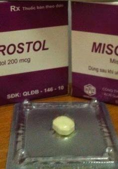 Phát hiện thuốc Misoprostol không đạt chất lượng