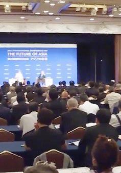 """Xung đột thương mại toàn cầu - chủ đề """"nóng"""" tại Hội nghị tương lai châu Á"""