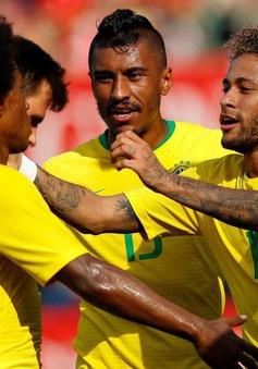 Giao hữu quốc tế: Neymar lại lập công, Brazil đè bẹp Áo