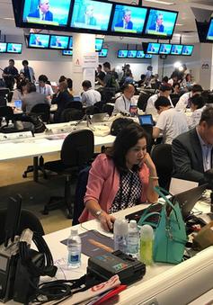 Thấy gì bên trong Trung tâm báo chí sự kiện thượng đỉnh Mỹ - Triều?