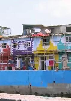 Thay đổi diện mạo khu ổ chuột rộng lớn ở Ấn Độ