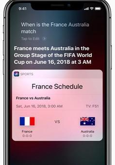 Apple đã chuẩn bị sẵn sàng cho World Cup 2018