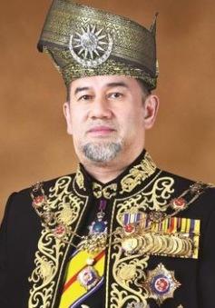 Nhà vua Malaysia tự giảm 10% lương đến hết nhiệm kỳ
