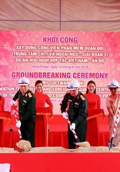 Khánh Hòa: Khởi công xây dựng công viên phần mềm Quân đội