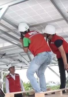 TP.HCM: Nhiều hộ dân chuyển sang dùng năng lượng mặt trời