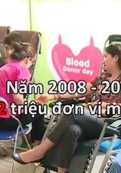 Nhiều người nước ngoài tại Việt Nam tham gia hiến máu tình nguyện