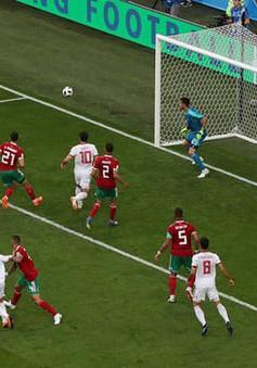 Kết quả Ma-rốc 0-1 Iran, bảng B FIFA World Cup™ 2018: Thất bại nghiệt ngã ở phút bù giờ
