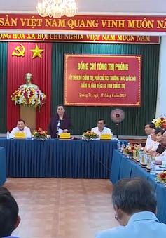 Quảng Trị cần thực hiện tốt hơn nữa các chính sách đối với vùng dân tộc