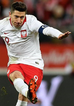ĐT Ba Lan: Chờ đợi đội trưởng Robert Lewandowski tỏa sáng