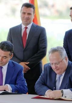 Quốc hội Macedonia thông qua thỏa thuận đổi tên nước