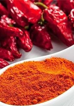 Phương pháp giảm cân bằng… vài trái ớt