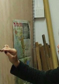 Công xưởng sao chép tranh của thế giới tại Trung Quốc