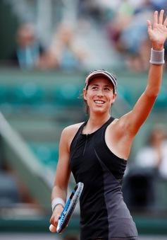 Pháp mở rộng 2018: Muguruza thẳng tiến, Kvitova bất ngờ bị loại