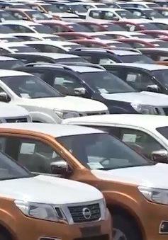 Ô tô nhập khẩu giảm 80% trong 5 tháng đầu năm 2018