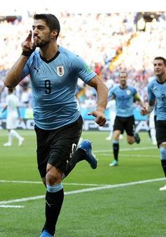 Sút tung lưới ĐT Saudi Arabia, Suarez lập kỷ lục bóng đá Uruguay