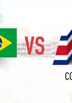 """TRỰC TIẾP Brazil - Costa Rica cùng """"Võ đoán"""" 2018 FIFA World Cup™"""
