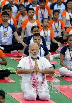 Thủ tướng Ấn Độ khai mạc Ngày Yoga quốc tế lần thứ 4
