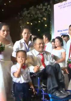 Đám cưới trong mơ của những người khuyết tật