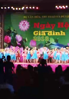Khai mạc Ngày hội Gia đình Việt Nam 2018