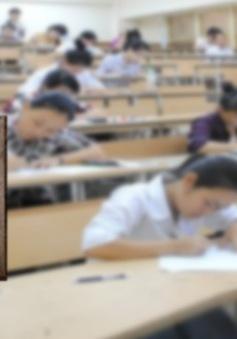 """Ngày đầu thi THPT Quốc gia: """"Đề Văn nghị luận khó, đề Toán có tính phân hóa cao"""""""
