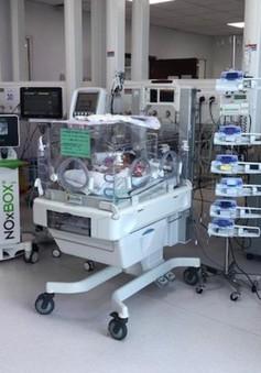 Thở máy khí NO, nhiều trẻ sơ sinh mang trọng bệnh được cứu sống