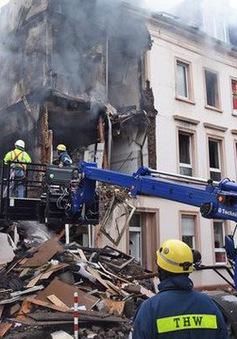 Nổ tòa nhà tại Đức, 25 người bị thương