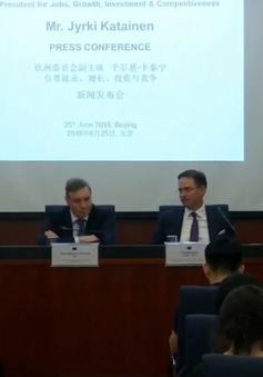 EU yêu cầu Trung Quốc giảm bớt rào cản thương mại