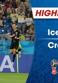 HIGHLIGHTS: ĐT Iceland 1-2 ĐT Croatia (Bảng D FIFA World Cup 2018)