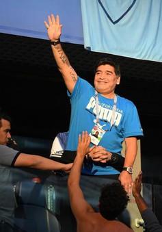 Huyền thoại Maradona nhập viện sau chiến thắng của Argentina