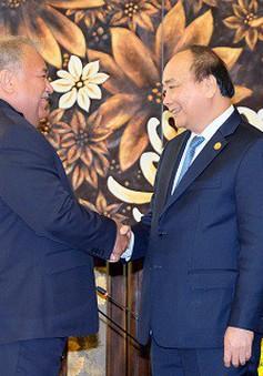 Thủ tướng Nguyễn Xuân Phúc tiếp lãnh đạo một số quốc gia dự Đại hội đồng Quỹ Môi trường toàn cầu