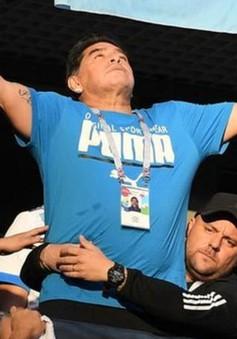 """FIFA World Cup™ 2018: Maradona """"giận tím mặt"""" vì tin đồn qua đời"""