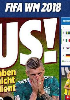 Báo Đức: Đêm qua là nỗi nhục lớn nhất, là ngày đen tối trong lịch sử bóng đá Đức