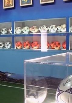 Bộ sưu tập 800 quả bóng của cựu trọng tài Nga
