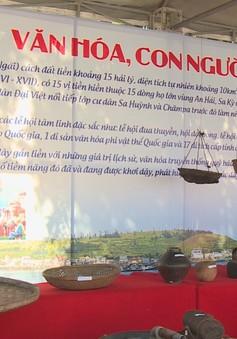 """Khai mạc trưng bày chuyên đề """"Lý Sơn - Di sản văn hóa biển đảo"""""""