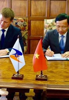 Việt Nam và EAEU ký Nghị định thư