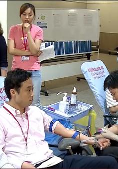 Đẩy mạnh tuyên truyền hiến máu nơi công cộng