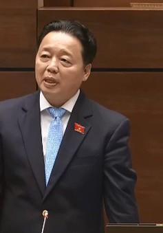 """Bộ trưởng Trần Hồng Hà trả lời những vấn đề """"nóng"""" về môi trường"""